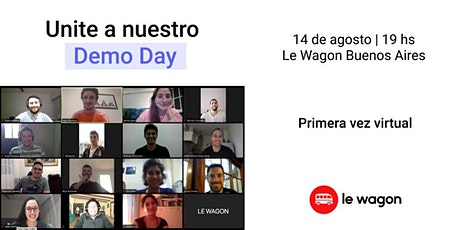 Le Wagon Demo Day - Batch #405 entradas