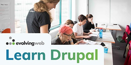 Drupal Site Building & Architecture - Live Online Training tickets