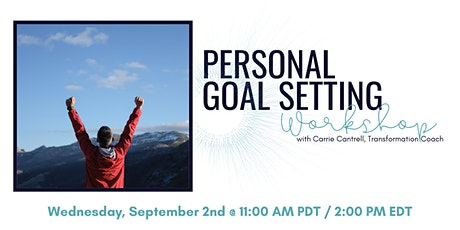 Personal Goal Setting Workshop tickets