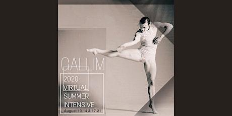 GALLIM 2020 Summer Intensive tickets