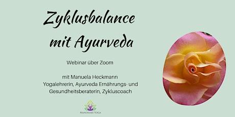 Bring deinen Zyklus in Balance mit Ayurveda Tickets