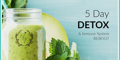 5 Day Detox and Immune Reboot tickets