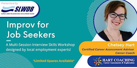Improv for Job Seekers: Virtual Interview Skills Workshop tickets
