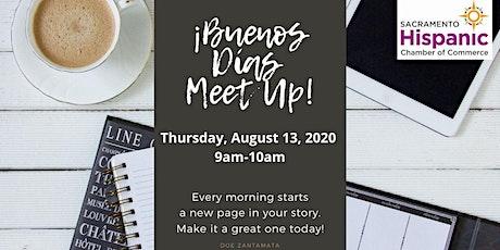 Buenos Dìas Virtual Meet Up tickets
