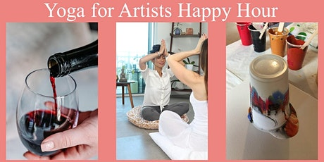 Yoga for Artists Happy Hour! tickets