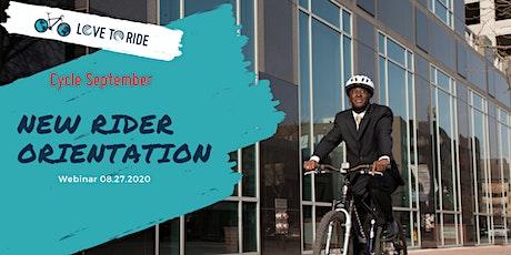 Love to Ride Challenge- New Bike Rider Orientation biglietti