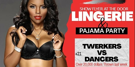 P. B. A. WEEKEND LINGERIE AND PAJAMA PARTY tickets