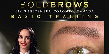 BoldBrows Basic Training Toronto September 2020 tickets