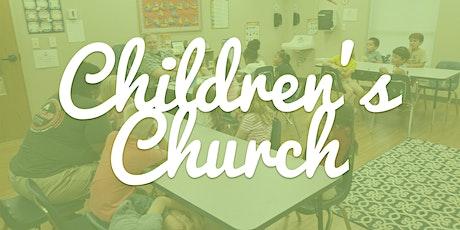 Children's Church (August 16th) tickets