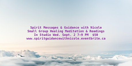 Spirit Messages and Guidance with Nicole tickets