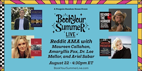 Reddit Ask Me Anything with True Crime Authors tickets