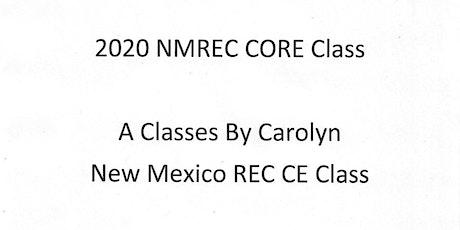 2020 NM REC Core Class tickets