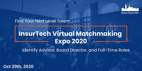 InsurTech Matchmaking Expo tickets
