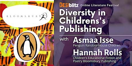 DESIblitz Online Literature Festival  - Diversity in Children's Publishing tickets