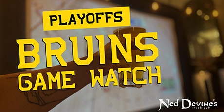 Bruins Playoffs at Ned's tickets
