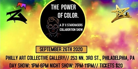 The  power of Color tickets