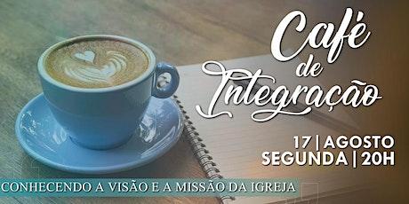 Café de integração - 17/08/2020 ingressos