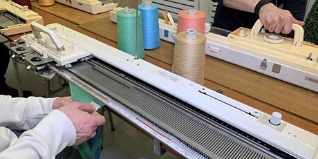 Machine Knitting- Learn to use a Ribber Attachment  'Zoom' Online Class tickets