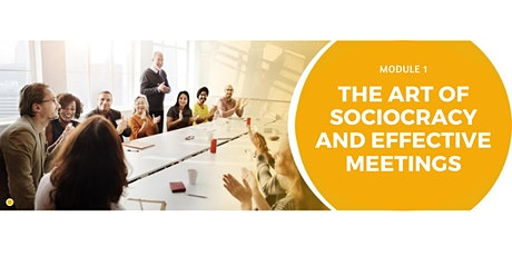 The Art of Sociocracy and Effective Meetings tickets