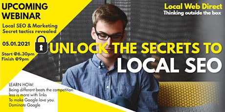 SEO Southend Course - Unlocking the Secrets of Local SEO and Marketing tickets