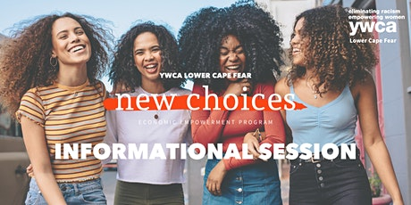 YWCA's New Choices Informational Session tickets