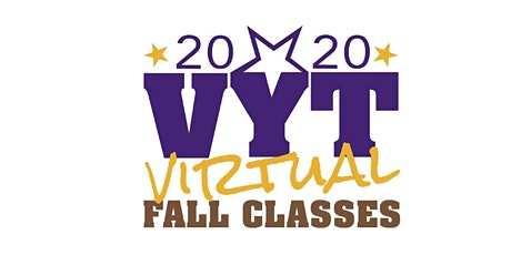Valley Youth Theatre's Virtual Fall Performing Arts Classes tickets