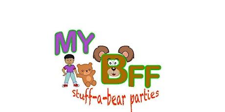 MyBFF Stuff-A-Bear Virtual Halloween Party tickets