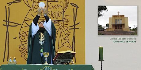 Missa, Dom 16/8 - 08h - Capela São José Operário ingressos
