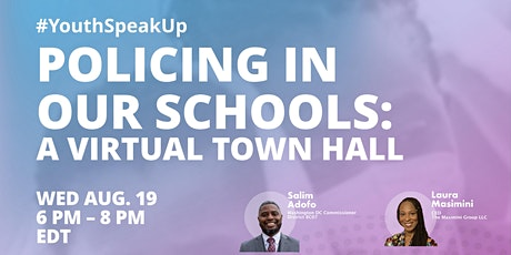 #YouthSpeakUP - Calling all Youth to Speak on Police in our Community tickets