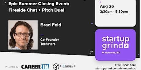 Startup Grind - Fireside Chat: Brad Feld (Co-Founder of Techstars) tickets