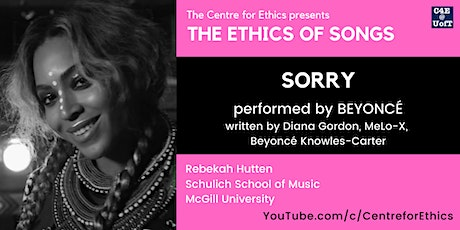 The Ethics of Songs: Sorry (with Rebekah Hutten) tickets
