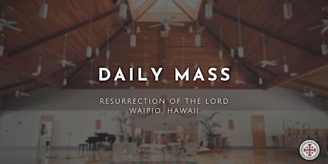 Daily Mass (Wednesday) tickets