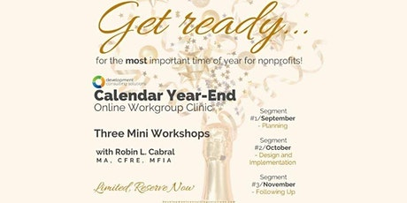 Calendar Year-End Online Workgroup Clinic tickets