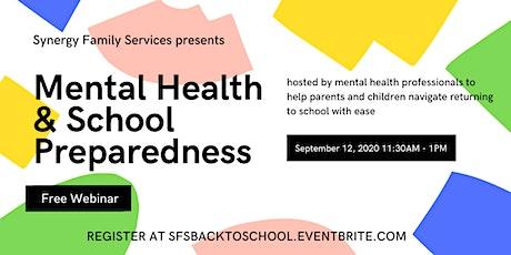 Mental Health & School Preparedness tickets