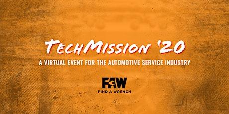 TechMission 2020 - Automotive Virtual Event tickets