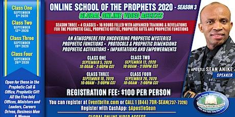 Online School of the Prophets 2020 - Season 3 tickets