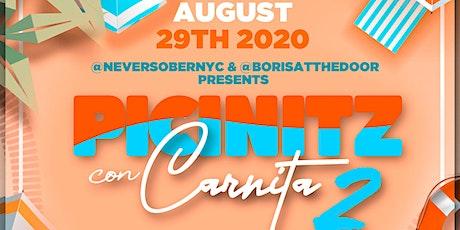 PICINITZ CON CARNITA 2 tickets