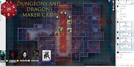 Dungeons & Dragons Maker Camp MONDAYS 4:00PM Tickets