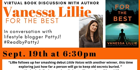Author Vanessa Lillie Virtual Book Discussion: For the Best tickets