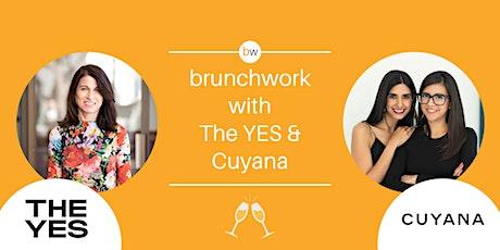 Julie Bornstein (THE YES, Stitch Fix) and Cuyana brunchwork tickets