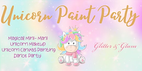 Unicorn Paint Party August 30th tickets