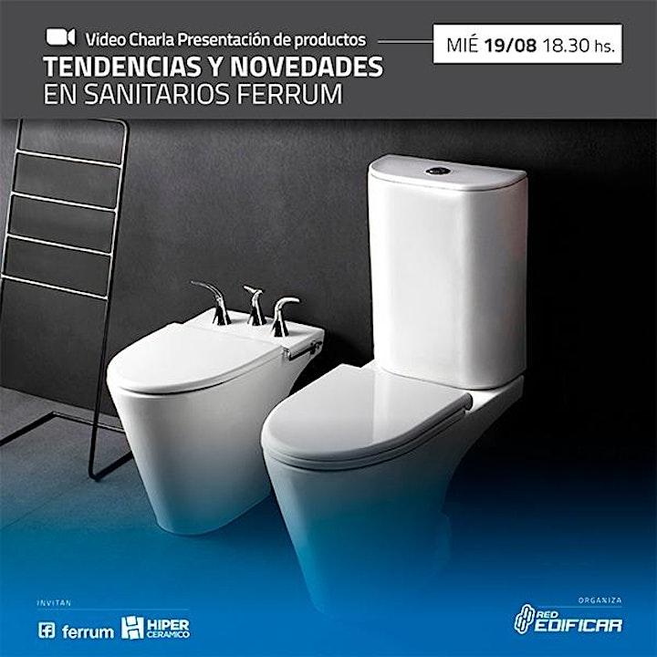 """Imagen de Video Charla """"Tendencias y Novedades Sanitarios Ferrum"""". Red Edificar"""