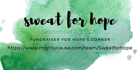 Sweat for Hope Fundraiser tickets