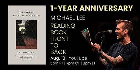 Michael Lee 1-Year Anniversary Reading tickets