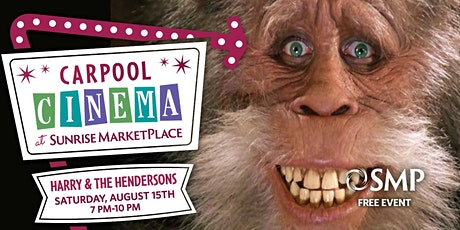 SMP Carpool Cinema Presents: Harry and the Hendersons tickets
