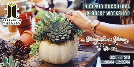 SOLD OUT- Pumpkin Succulent Workshop at Wagonhouse Winery tickets