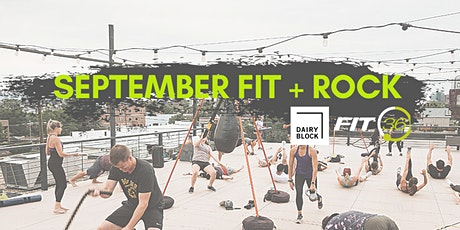 Dairy Block // FIT36: September Fit + Rock tickets