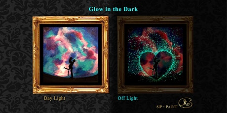 Sip and Paint (Glow in the Dark): Sweet Couple (Saturday) tickets