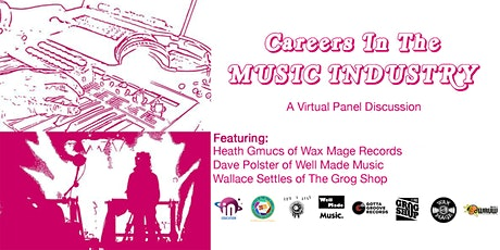 Careers in the music industry tickets