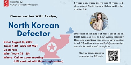 Conversation with Evelyn - North Korea Defector tickets
